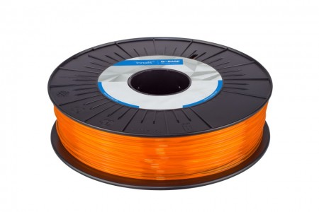 Filament UltraFuse PLA Orange Translucent (portocaliu transparent) 750g