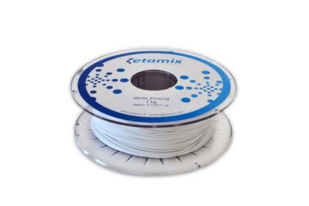 Filament Zetamix White Zirconia (zirconiu alb) 1kg