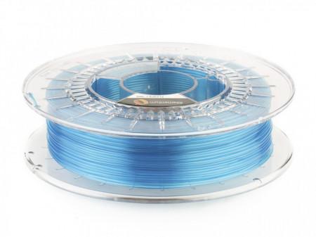 Filament Flexifill TPU 98A Blue Transparent (albastru transparent) 500g