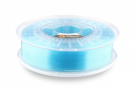 Poze Filament PLA Crystal Clear Iceland Blue (transparent albastru) 750g