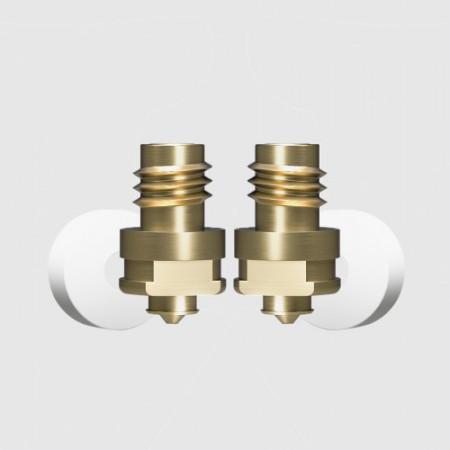 Set de duze (nozzle) de 0.3 mm si de 0.6 mm pentru imprimantele Zortrax M200 Plus si Zortrax M300 Plus