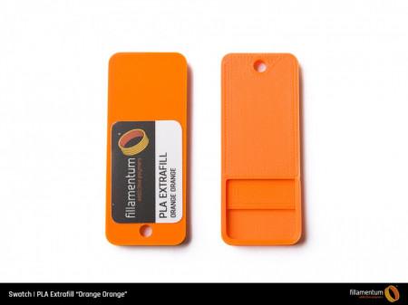 Mostra printata de PLA ExtraFill Orange Orange
