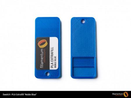 Mostra printata de PLA ExtraFill Noble Blue
