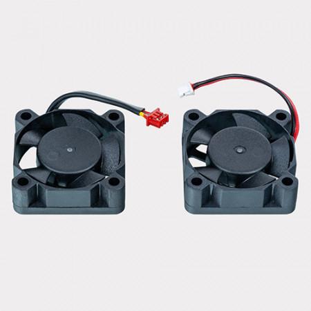 Ventilatoare de racire pentru extruder (sus si fata)