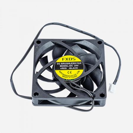 Ventilator placa de baza (Fan Cooler 70x70mm) pentru imprimantele Zortrax M200, M200 Plus, M300 si M300 Plus