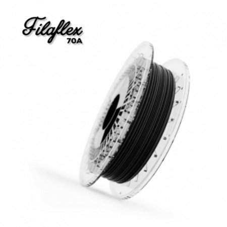 Filament FilaFlex 70A Black (negru)