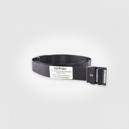Cablu pentru extruder cu adaptor (Extruder cable with adapter) pentru imprimantele Zortrax M200 si M200 Plus