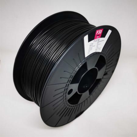 Filament 1.75mm PLA - power BLACKout (Negru) 1kg