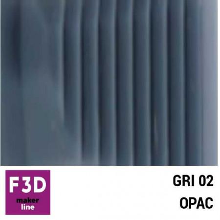 Fiola colorant pentru 500g rasina BASIC - 12,5g - culoare: Gri 02 opac