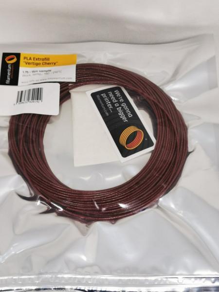 Mostra filament 1.75 mm PLA ExtraFill Vertigo Cherry 15m