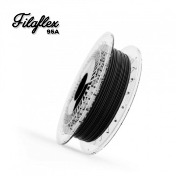 Filament FilaFlex Medium 95A Black (negru)