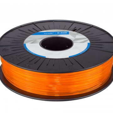 Filament PLA Orange Translucent (portocaliu transparent) 750g