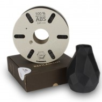 Filament RECICLAT ABS - Negru 750g