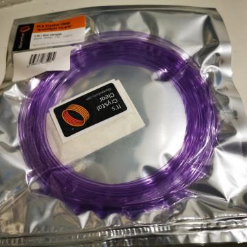 Mostra filament 2.85 mm PLA ExtraFill Crystal Clear Amethyst Purple 15m