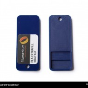 Mostra printata de PLA ExtraFill Cobalt Blue
