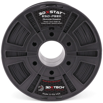 Filament 1.75 mm 3DXSTAT ESD PEEK (negru) 500g