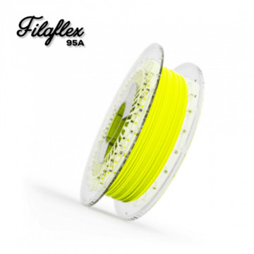 Filament FilaFlex Medium 95A Fluor (verde fosforescent)