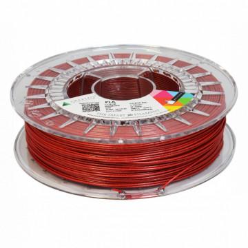 Filament SmartFil PLA Glitter Red (rosu) 750g