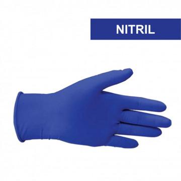 Manusi nitril culoare: albastru