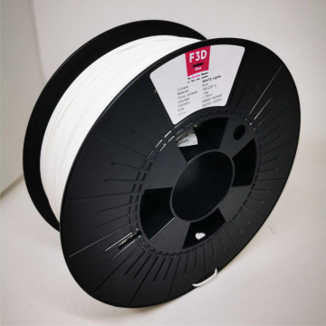 Filament 1.75mm PLA - WHITE nights (Alb) 1kg