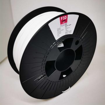 Filament 1.75mm PLA - WHITE nights (Alb) 1kg