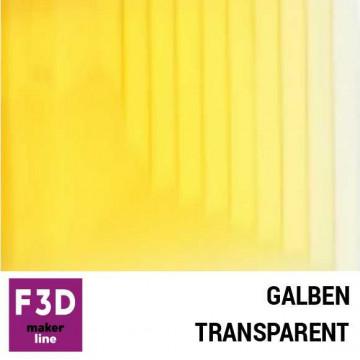 Fiola colorant pentru 500g rasina BASIC - 12,5g - culoare: Galben transparent