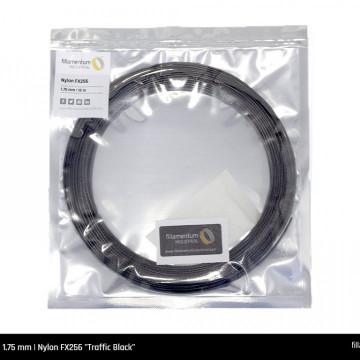 Mostra filament 1.75 mm Nylon FX256 Traffic Black 15m