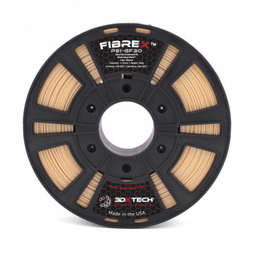 Filament 1.75 mm ThermaX™PEI+GF30 cu ULTEM® PEI Natural