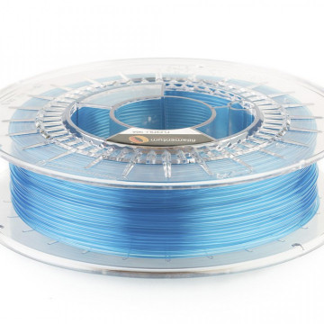 Filament Flexifill TPU 98A Blue Transparent (albastru transparent) 500g
