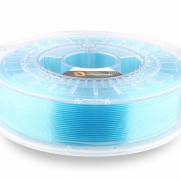 Filament PLA Crystal Clear Iceland Blue (transparent albastru) 750g