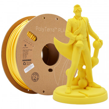 Filament PolyTerra PLA Savannah Yellow (galben)1kg