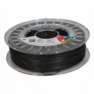 Filament SmartFil PLA Glitter Black (negru) 750g