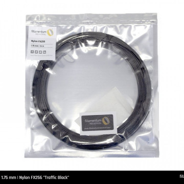 Mostra filament 1.75 mm Nylon FX256 Traffic Black 15m