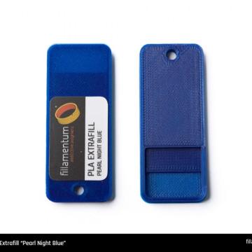 Mostra printata de PLA ExtraFill Pearl Night Blue
