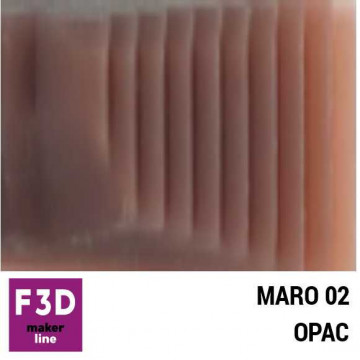 Fiola colorant pentru 500g rasina BASIC - 12,5g - culoare: Maro 02 opac
