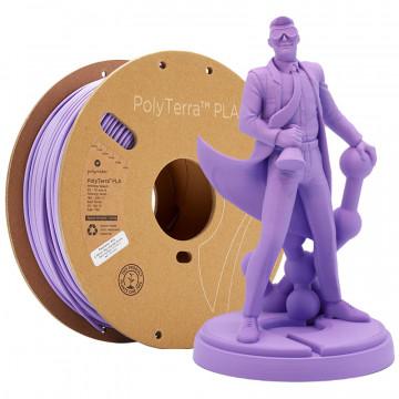 Filament PolyTerra PLA Lavender Purple (violet)1kg