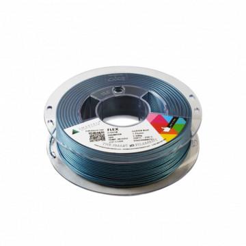 Filament SmartFil Flex - TPU - Glitter Blue (albastru stralucitor) 750g