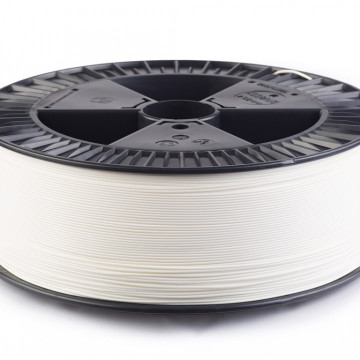 Filament PLA Traffic White (alb) 2.5 kg
