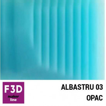Fiola colorant pentru 500g rasina BASIC - 12,5g - culoare: Albastru 03 opac