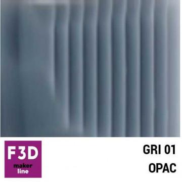 Fiola colorant pentru 500g rasina BASIC - 12,5g - culoare: Gri 01 opac