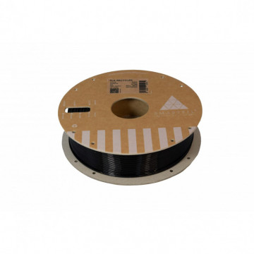 Filament 1.75 mm PLA RECYCLED Black (negru) 750g