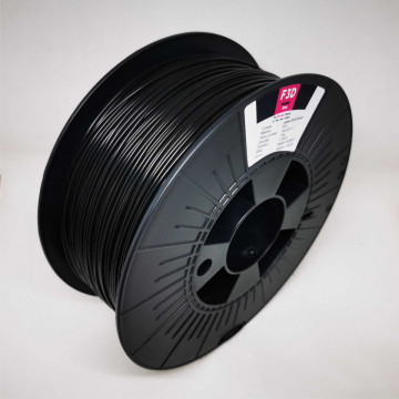 Filament 1.75mm PLA - power BLACKout (Negru) 1kg