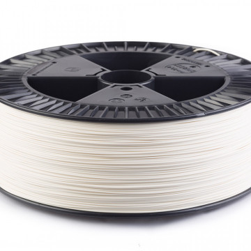 Filament ABS ExtraFill Traffic White (alb) 2.5 kg