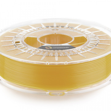 Filament PLA Crystal Clear Tangerine Orange (portocaliu transparent) 750g