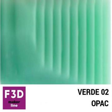 Fiola colorant pentru 500g rasina BASIC - 12,5g - culoare: Verde 02 opac