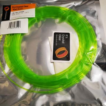 Mostra filament 2.85 mm PLA ExtraFill Crystal Clear Kiwi Green 15m
