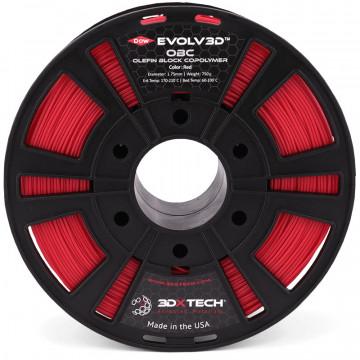 Filament EVOLV3D OBC Copolimer polietilena Red (rosu) 750g