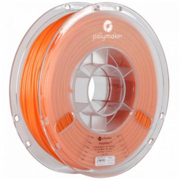 Filament PolyFlex TPU95 True Orange (portocaliu) 750g