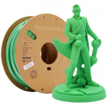 Filament PolyTerra PLA Forrest Green (verde)1kg