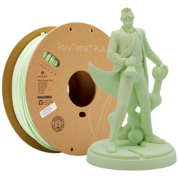 Filament PolyTerra PLA Mint (verde deschis)1kg